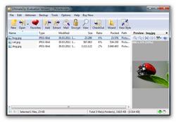 UltimateZip screen 1
