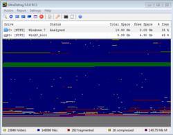 UltraDefrag screen 1