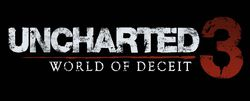 Uncharted 3 World of Deceit - logo