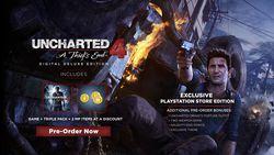 Uncharted 4 Deluxe Edition