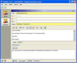 UniMailer screen1