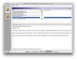 UniMailer screen2