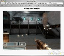 Unity Web Player screen2.