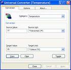 Universal Converter : convertir des unités de mesures facilement