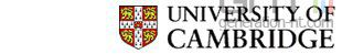 Universite cambridge uk logo