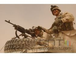 Us army infanterie m240 mitrailleuse small