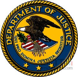 Usa blason ministere justice