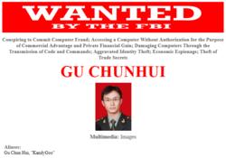 USA-FBI-Chine-officiers-hackers-Gu-Chunhui