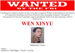 USA-FBI-Chine-officiers-hackers-Wen-Xinyu