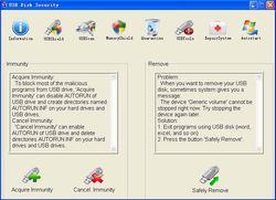 USB Disk Security screen 1
