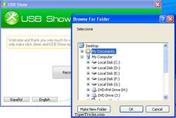USB Show screen2