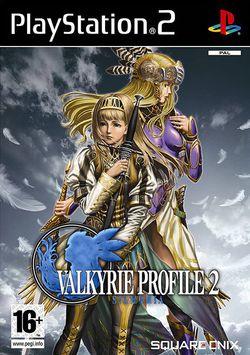 Valkyrie Profile 2 : Silmeria   Pochette PAL