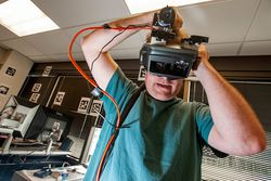 Valve - casque realite virtuelle - prototype
