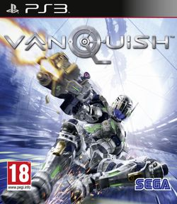 Vanquish - jaquette PS3