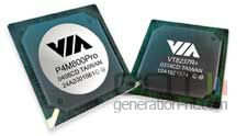 Via p4m800 chipset