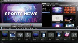 Video Deluxe MX screen