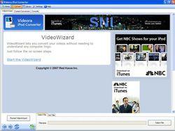 Videora iPod Converter screen1