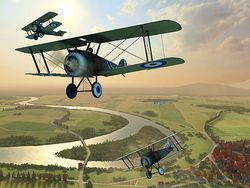 Vintage Aircraft 3D screen 3