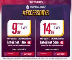 Virgin Mobile Excess Days 4G