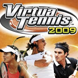 Virtua Tennis 2009   pochette
