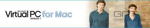 Virtual pc pour mac version 7 banniere