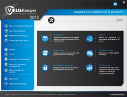 viruskeeper 2015 Outils