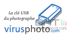 Virusphoto cle usb photographe