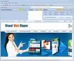 Visual Web Ripper screen1