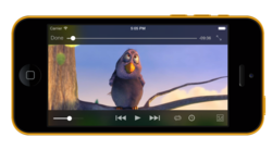 VLC-iOS-iphone-5c-player-1