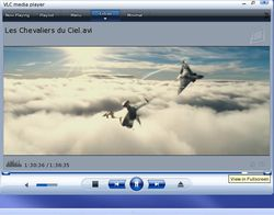 VLC Media Player screen1