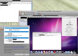 VMware Workstation 7 screen 1