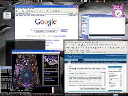 VMware Workstation 7 screen 2