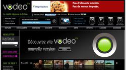 Vodeo tv page accueil