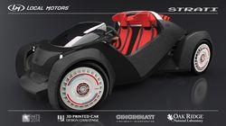 voiture imprimée 3D