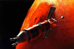 voyage sur Mars