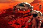 voyage vers mars radiations