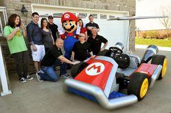 Vrai kart Mario Kart - 3
