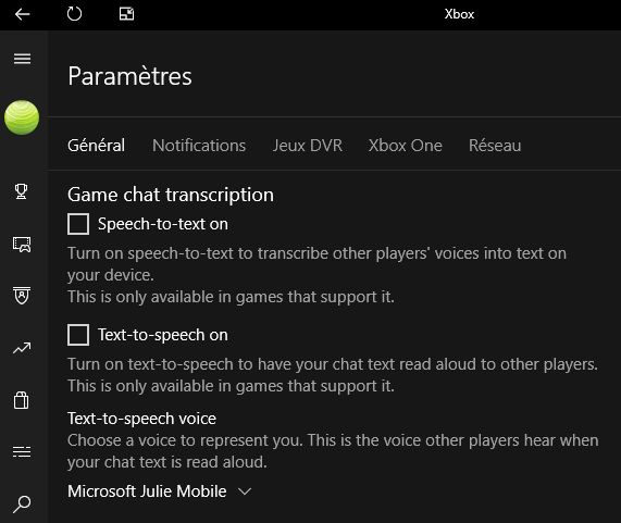 W10-app-Xbox-parametres-Game-chat-transcription