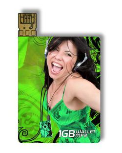 Wallet MP3 1 Go avant