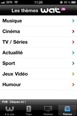 Wat.tv iPhone 005
