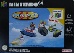 Wave Race 64   Pochette