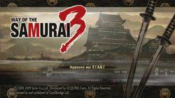 Way of Samuraï 3 (2)