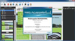 Web Acappella screen1