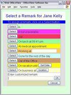 Web OfficeView : afficher un tableau virtuel de présence