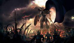 White Knight Chronicles Dogma Wars - artwork