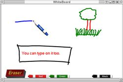 WhiteBoard screen 1
