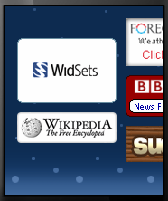 Widsets exemple
