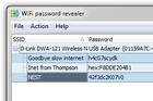 WiFi Password Revealer : récupérer un mot de passe réseau perdu