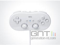 Wii - Console Virtuelle - Manette Classique