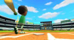 Wii sports baseball